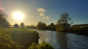 Part of the Stainforth & Keadby Canal - this is at Ealand