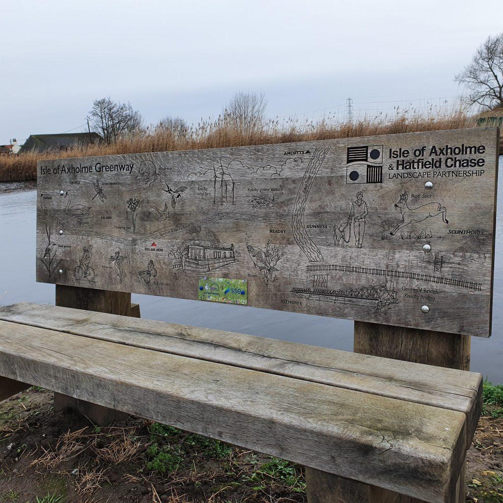 Isle Greenway Bench