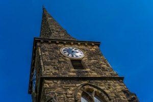 Church top at St Mark Church Amcotts