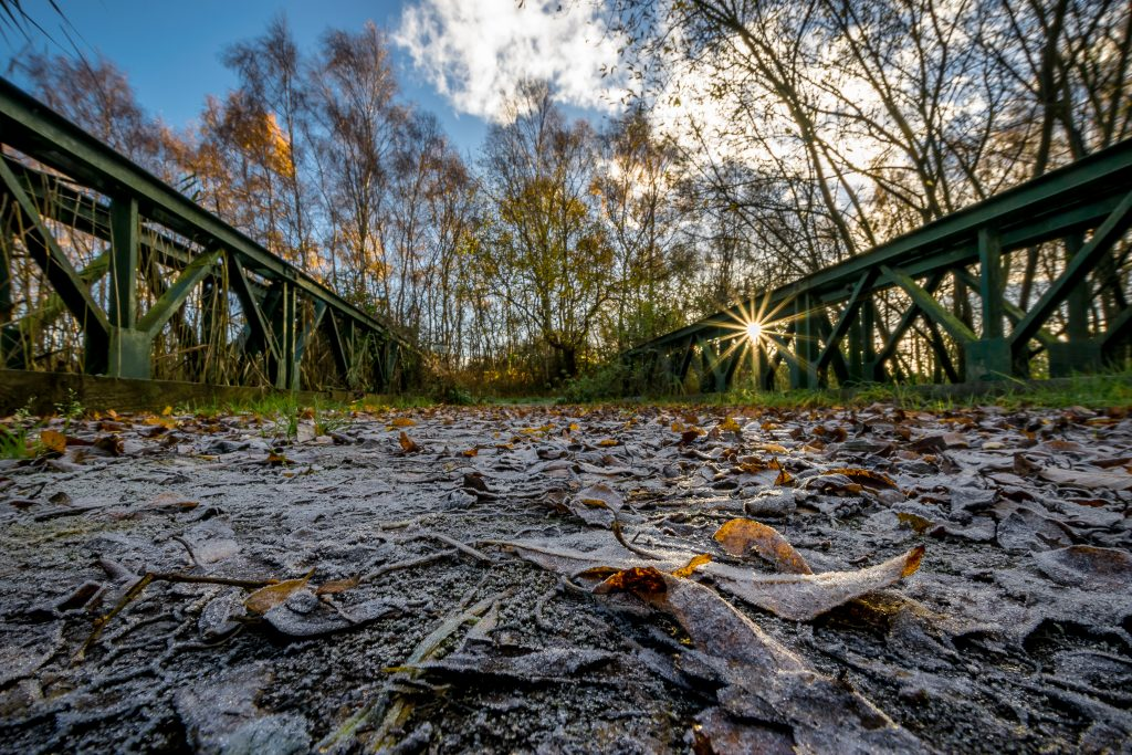Bailey Bridge at Crowle/Thorne Moors - Credit: Andy Mappouras
