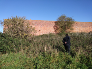 Volunteers surveying for the Lost Landscapes of Heroes project