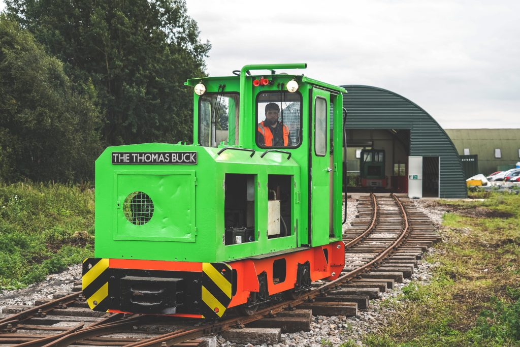 Schomo Loco on Crowle Peatland Railway