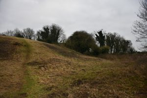The mound at Owston Ferry - site of the castle