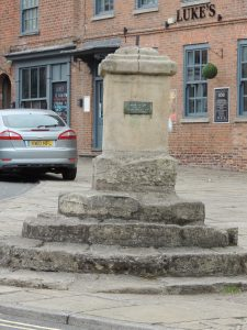 Memorial in Epworth Market Place