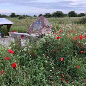 Location of the PB565 memorial site